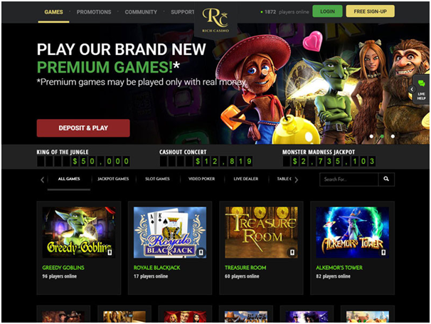 Rich casino for Mac getting started to play