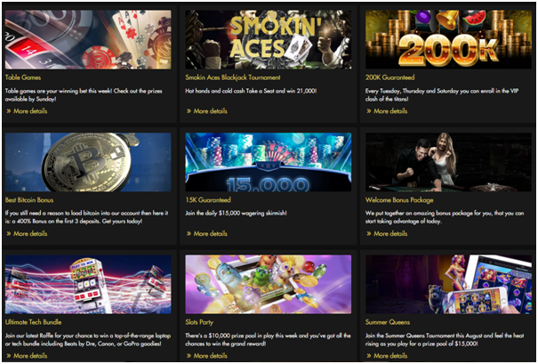 Rich casino promotions