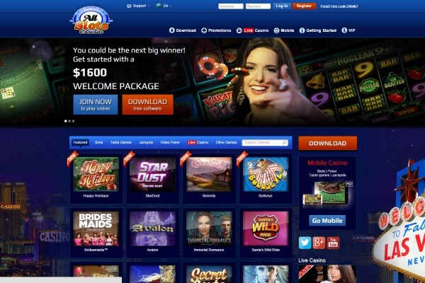 all slots casino mac