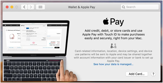 Add credit card to Apple Pay