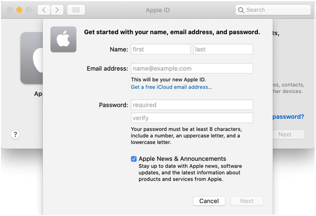 How to create Apple ID with itunes