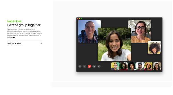 Facetime in MAC