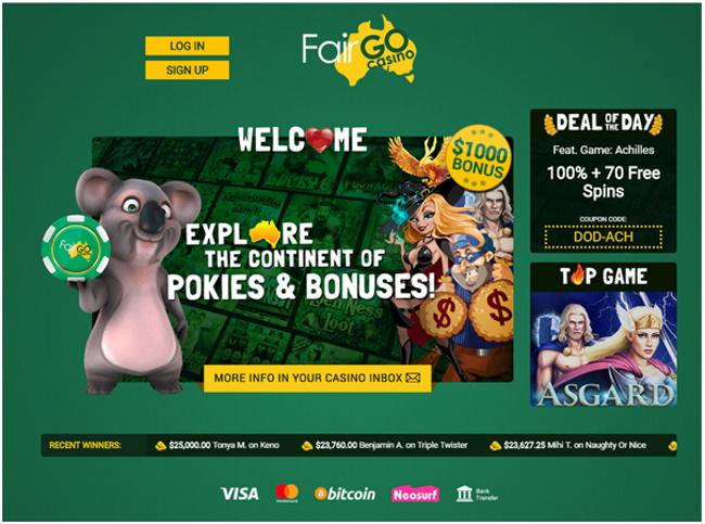 Fair Go Casino for Mac
