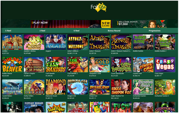 Fair Go Casino Games to play on Mac