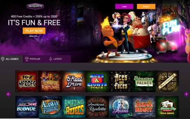 Jackpot City Casino for Mac