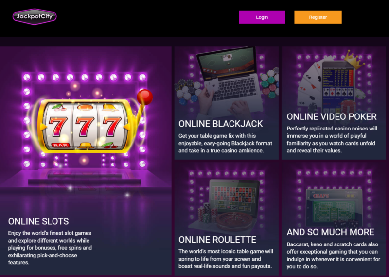 Jackpot City Fun casino games to play
