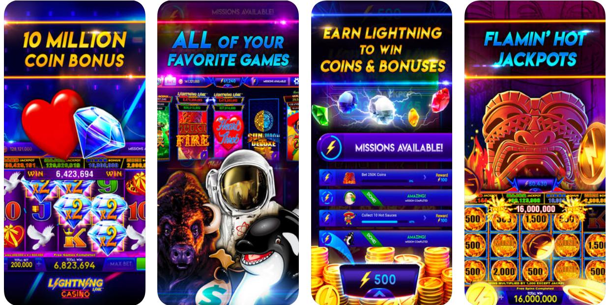 Lightening Link pokies app
