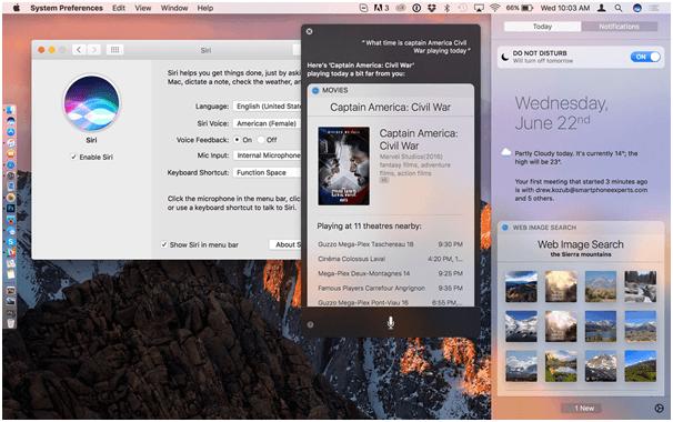 Siri Features in Mac