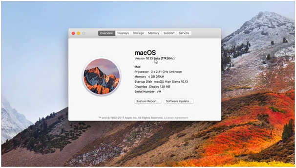 Apple's macOS-High Sierra