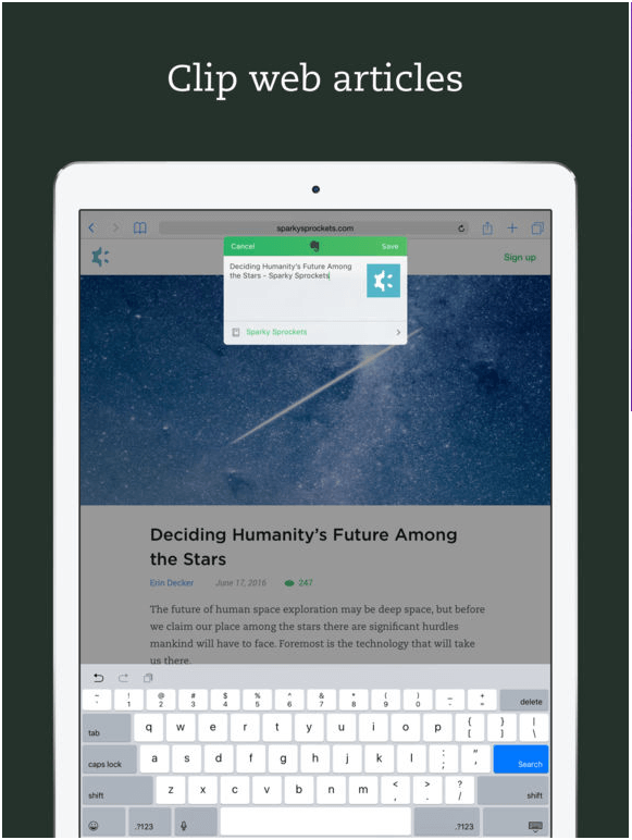 Mac Apps Evernote