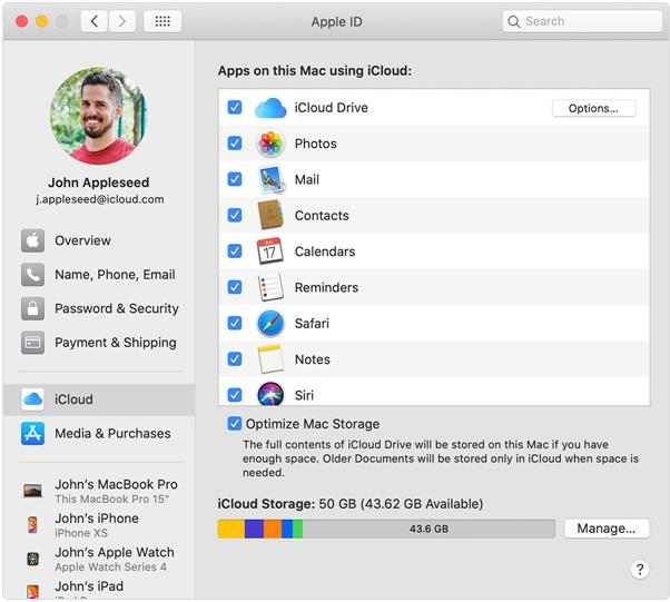 Mac backup at cloud drive
