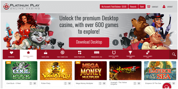 platinum play casino for mac