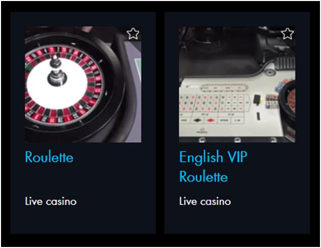 Roulette at Winward Casino