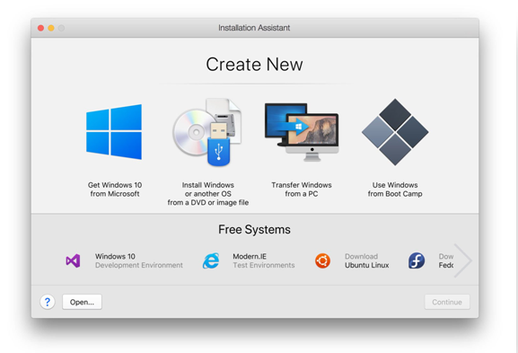 Virtualization Apps on MAC