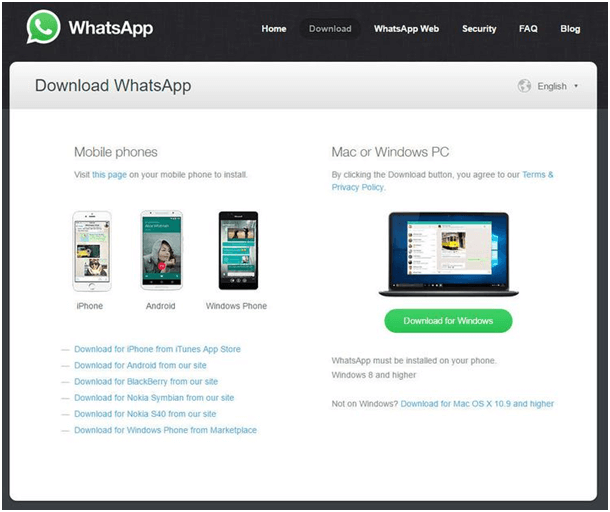 Whatsapp on Mac