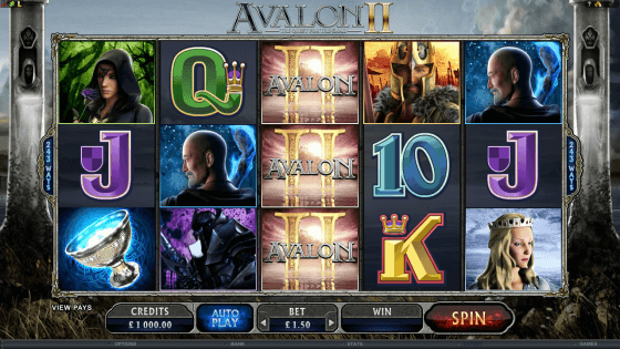 Avalon 2 Pokies - Click to Play