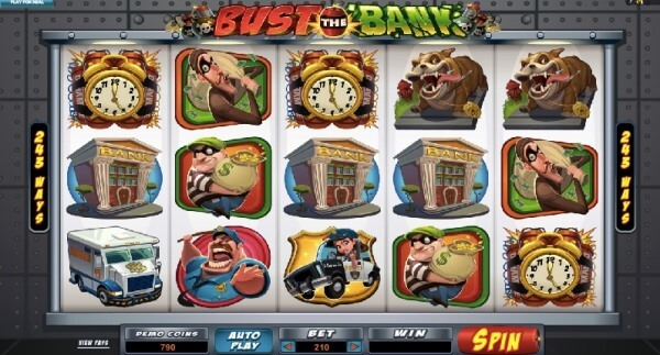 Bust the Bank - Play Now