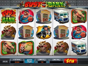 Bust the Bank Pokie Machine