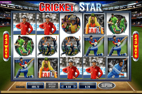 cricket stars pokies