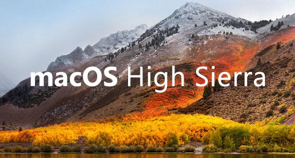 macOS-High Sierra