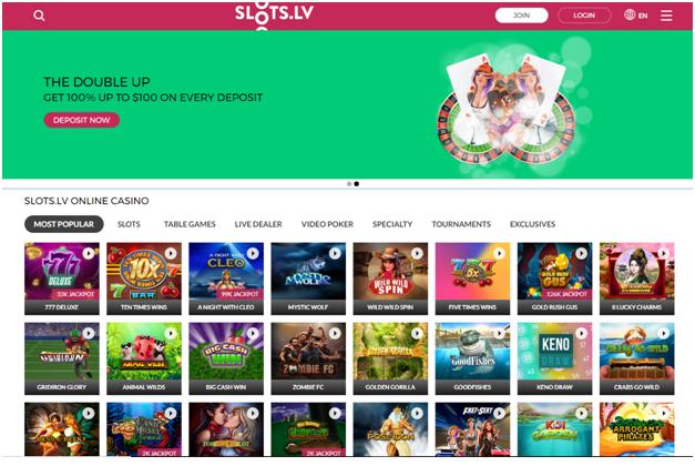 Slots.lv mac casino