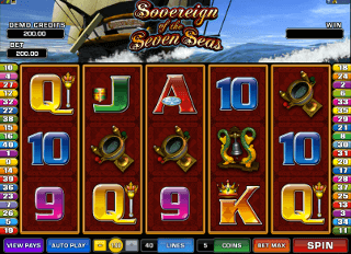 Sovereign of the Seven Seas Pokie Machine