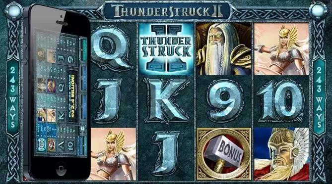 Thunderstruck Pokie Machine